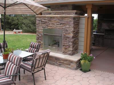 stone oven in Colorado