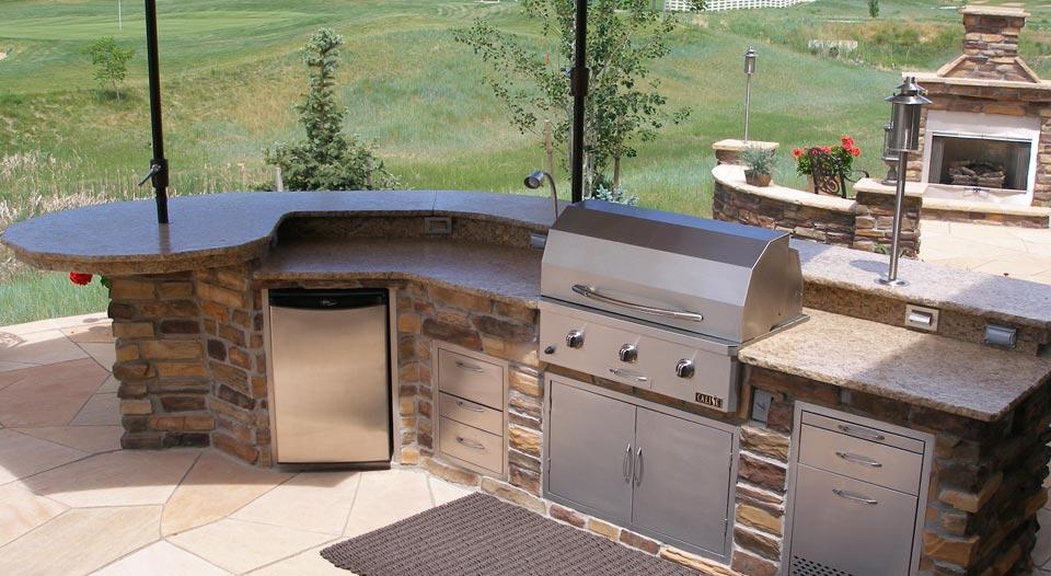 outdoor fireplace | hi-tech appliance