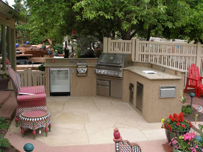 selecting the perfect Outdoor Kitchen Countertops,