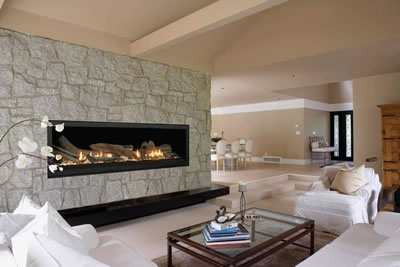 A gas fireplace can add warmth and ambiance to a room. If you want to learn more about the different options available