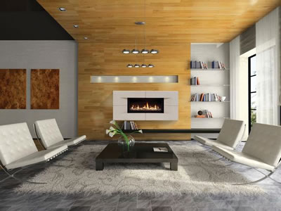 high-efficiency gas fireplace insert, install a gas fireplace in Denver, venting alternatives gas fireplace installations, Venting Options for Gas Fireplaces