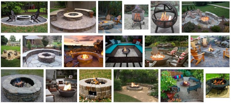 Types of Outdoor Fire Pits