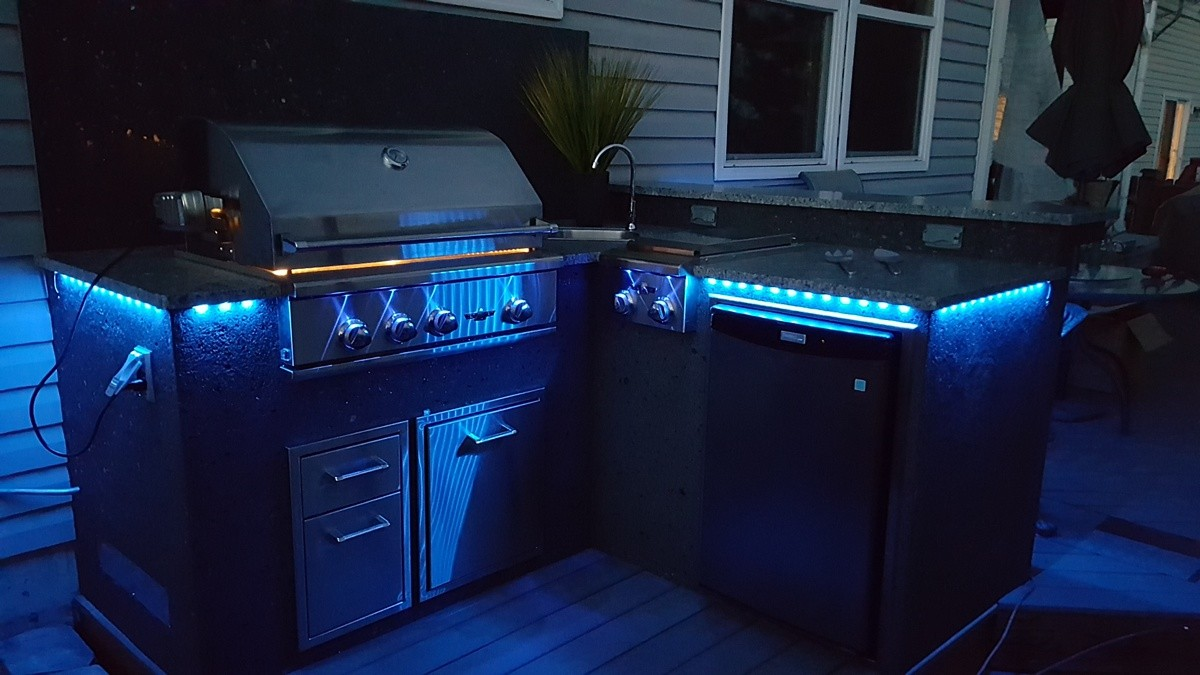 Outdoor Kitchens Hi Tech Appliance