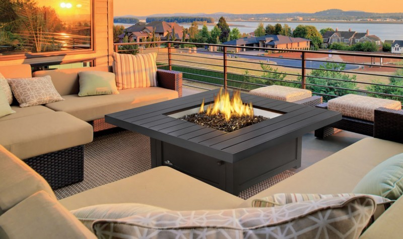 high-quality firepit table