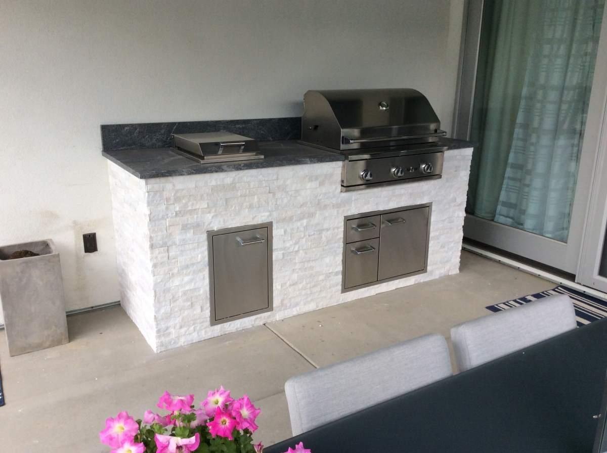 Contemporary Outdoor Kitchen Longmont Co Hi Tech Appliance