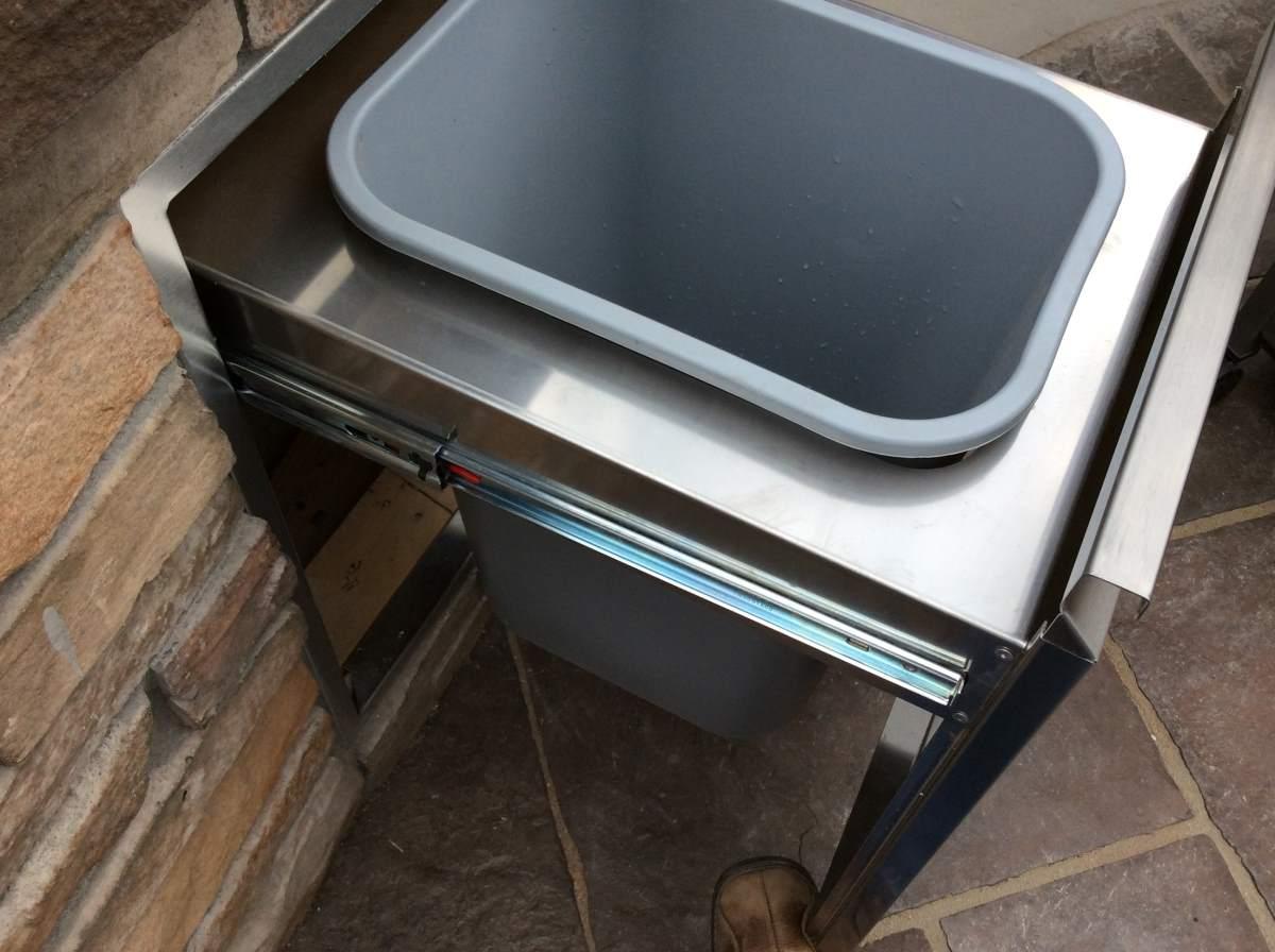 Custom Outdoor Kitchen Custom Sink Hi Tech Appliance