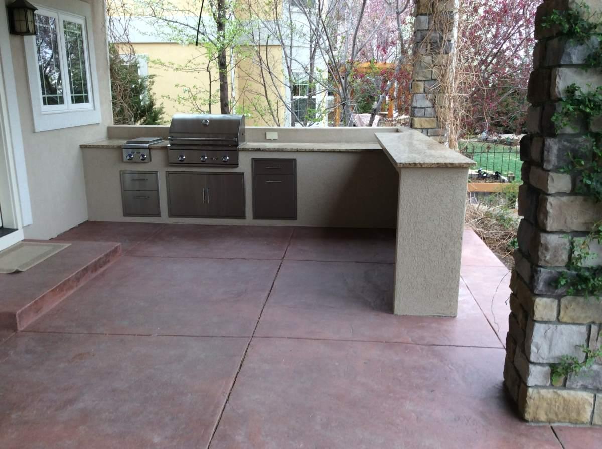 Custom Outdoor Kitchen Installed In Longmont Colorado Hi