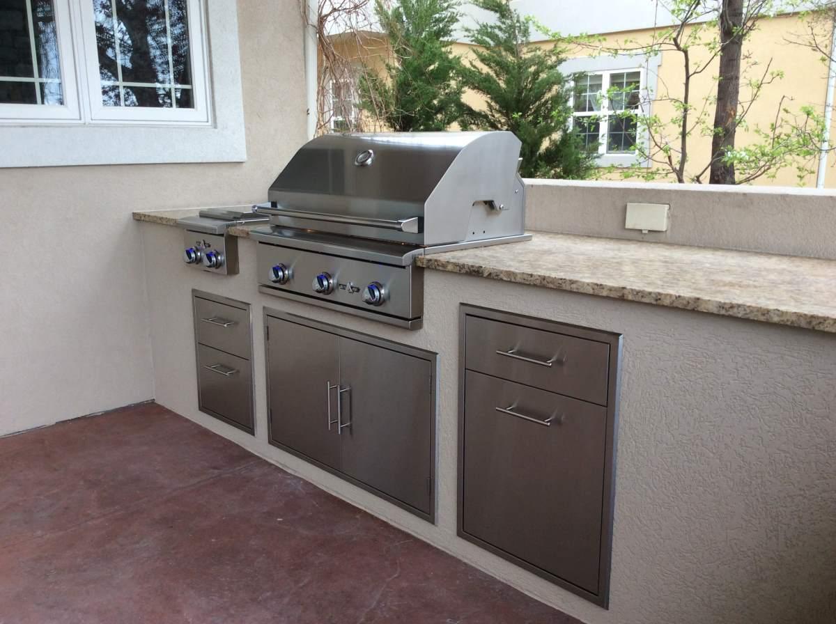 Custome Outdoor Kitchen In Longmont020 Hi Tech Appliance