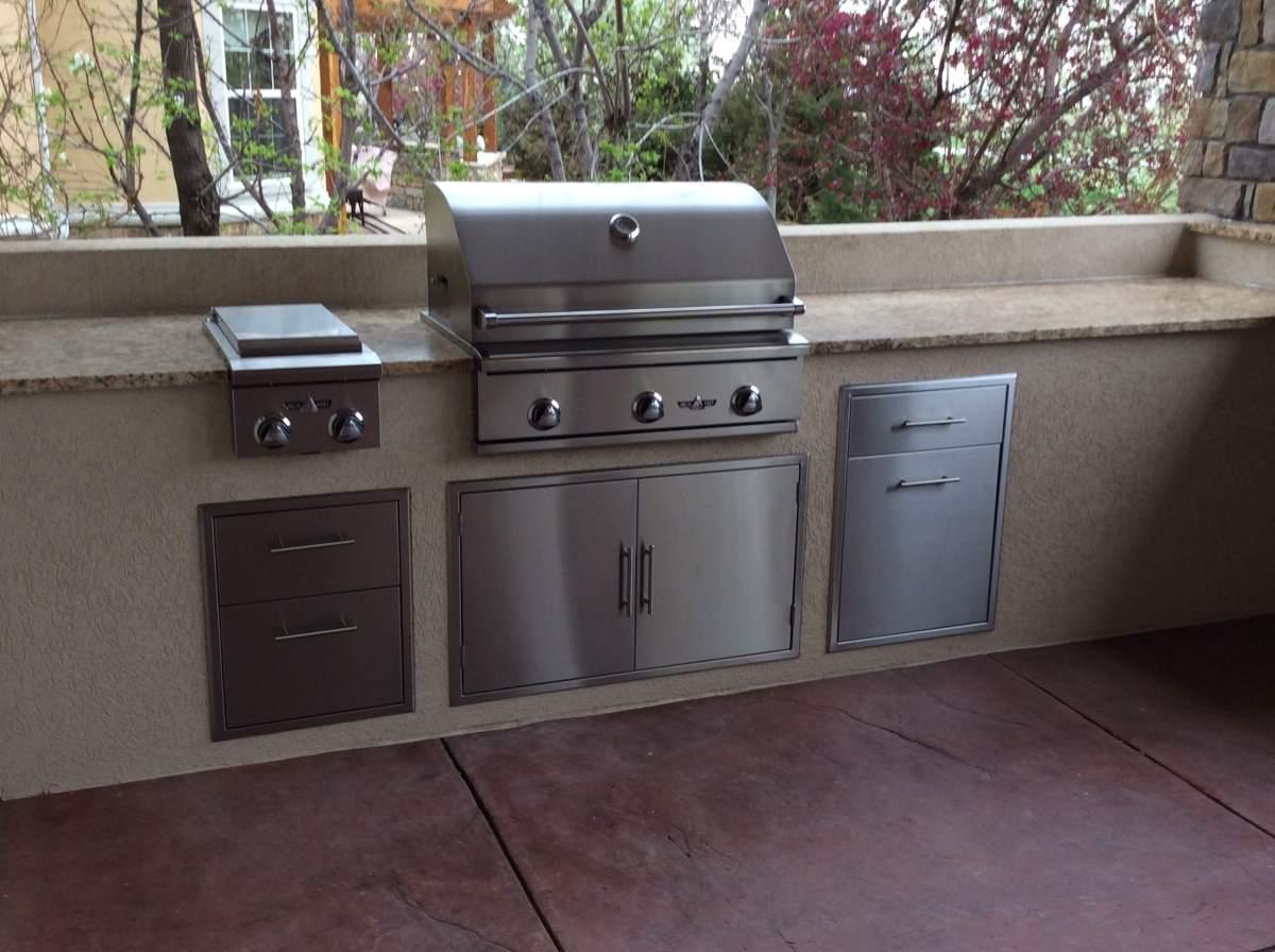 Outdoor kitchen appliances home design - Outdoor kitchen appliances ...