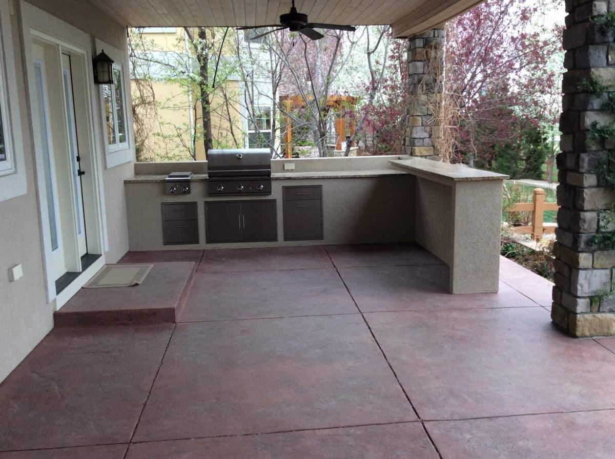 Custome Outdoor Kitchen In Longmont032 Hi Tech Appliance