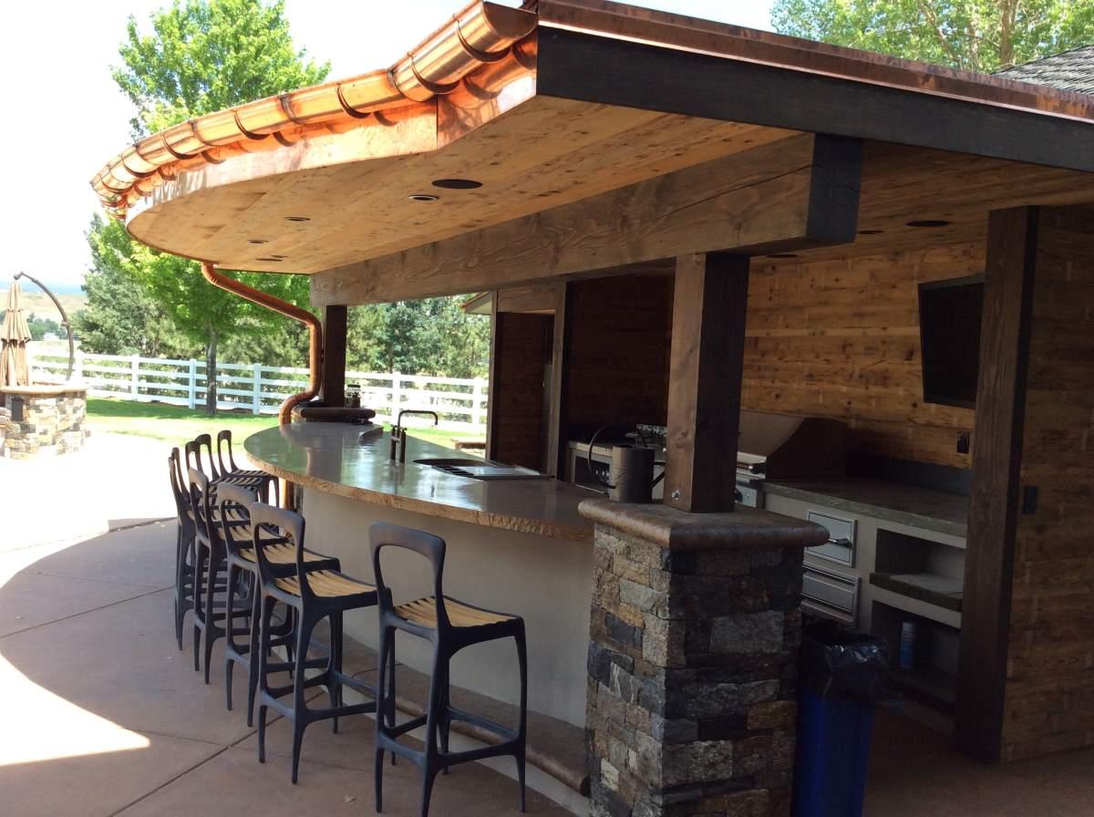 High End Outdoor Kitchen In Boulder Co Hi Tech Appliance