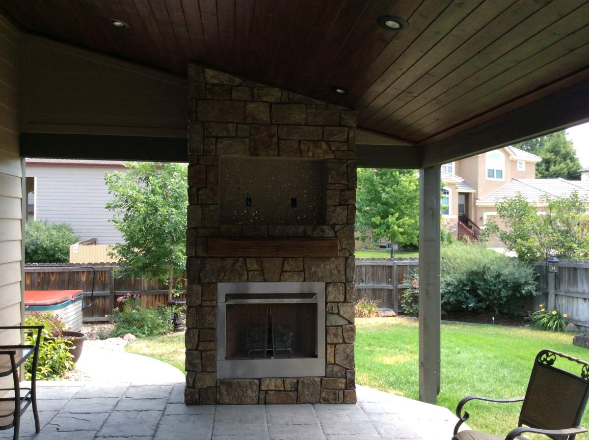 outdoor gas fireplace in superior co u2013 hi tech appliance