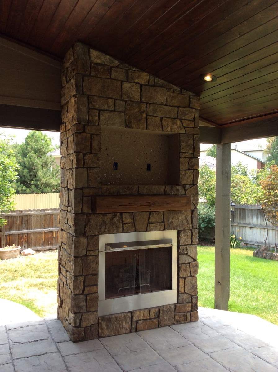 Outdoor Gas Fireplace in Superior, Co – Hi-Tech Appliance