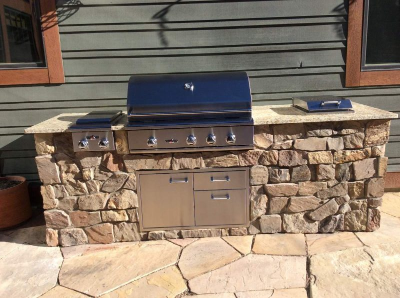 High-End Built-In Gas Grill