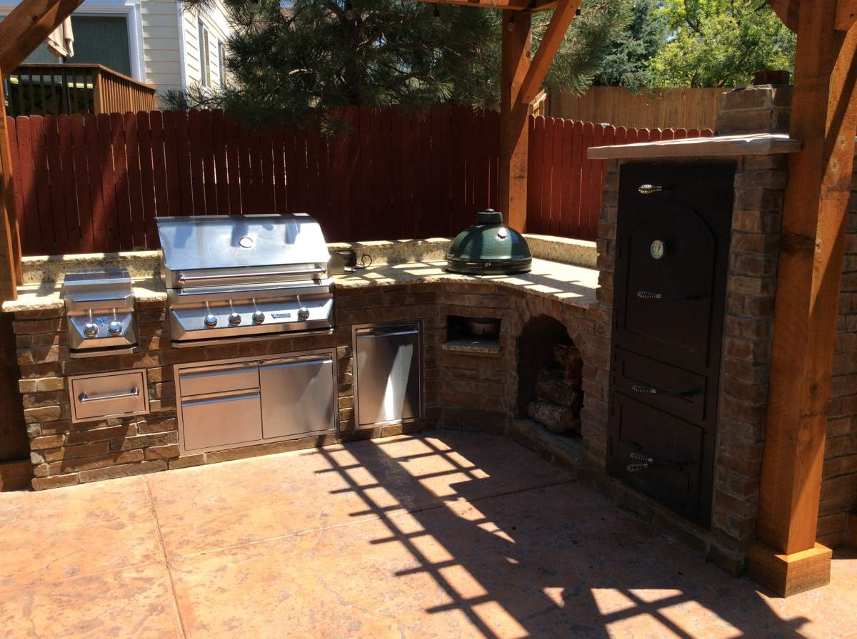 Large Wood Fired Smoker In Littleton Co Hi Tech Appliance