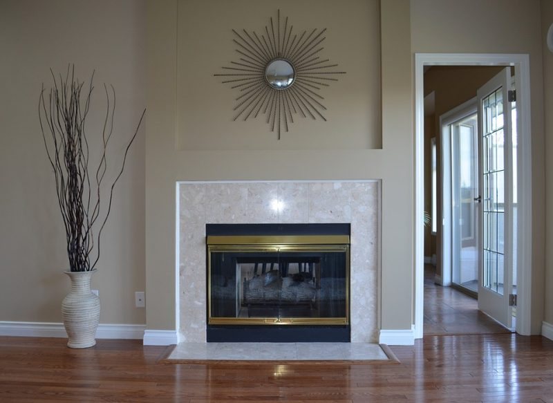 fireplace glass doors in Colorado