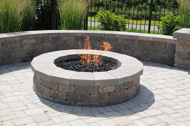 Colorado outdoor fire pit