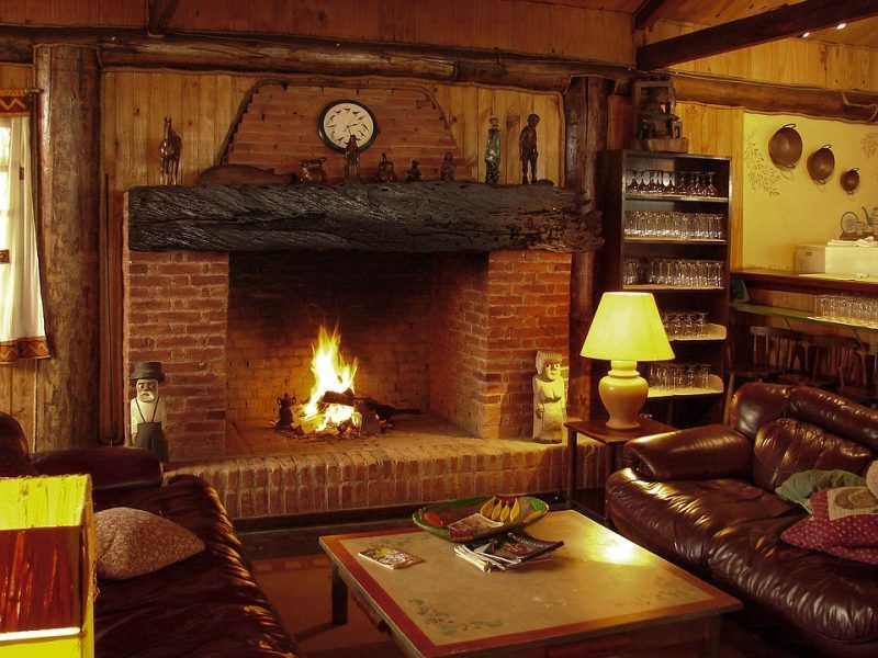 What is a Wood-Burning Fireplace