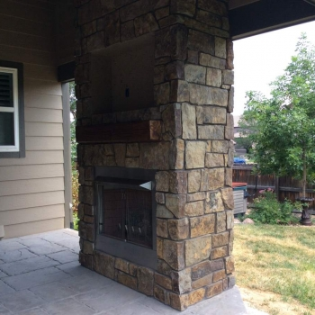 superior gas fireplace vent free gas outdoor gas fireplace located in superior co hitech appliance