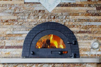 Steps to Clean the Wood Fired Pizza Oven