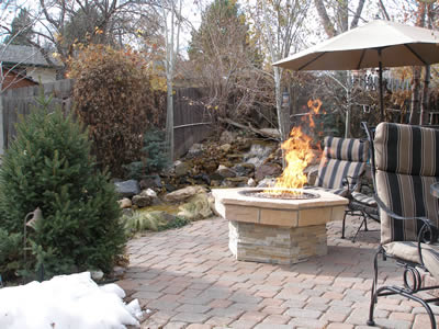 high-quality fire pit in Denver