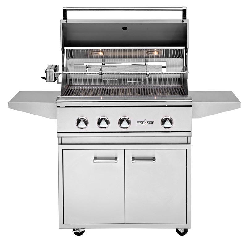 install your new grill