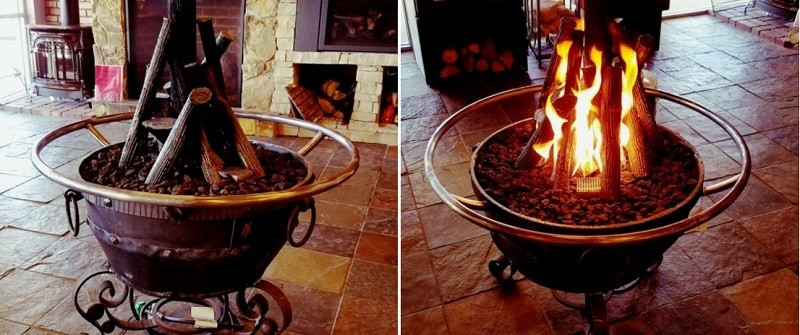 fire pits in Colorado