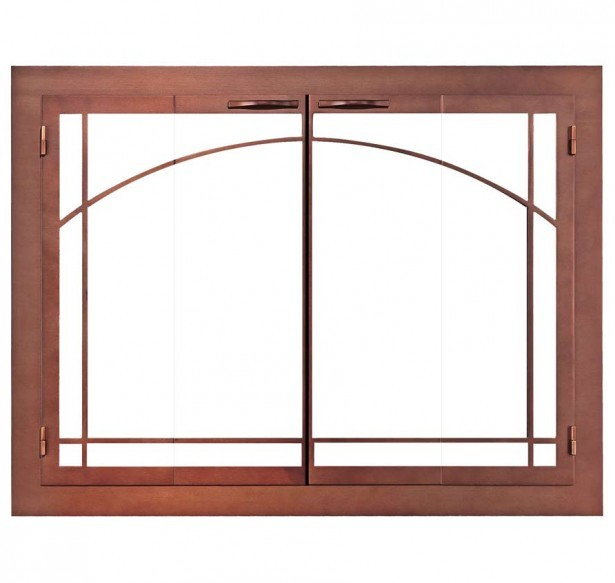 purchase the perfect door for your fireplace