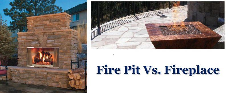 Fire Pit Vs. Fireplace