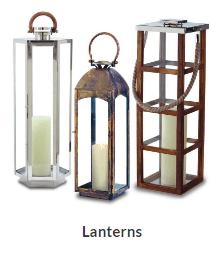 Fireplace lanterns in Colorado