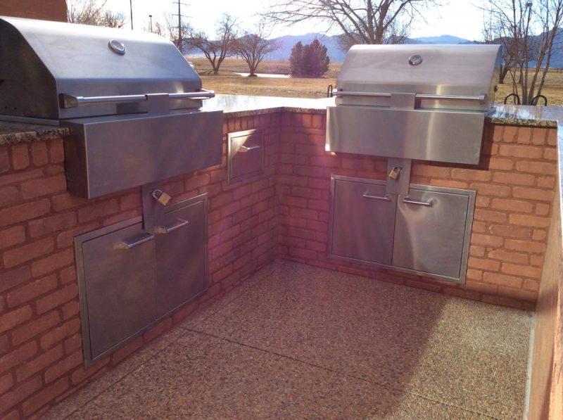 outdoor kitchen flooring alternatives