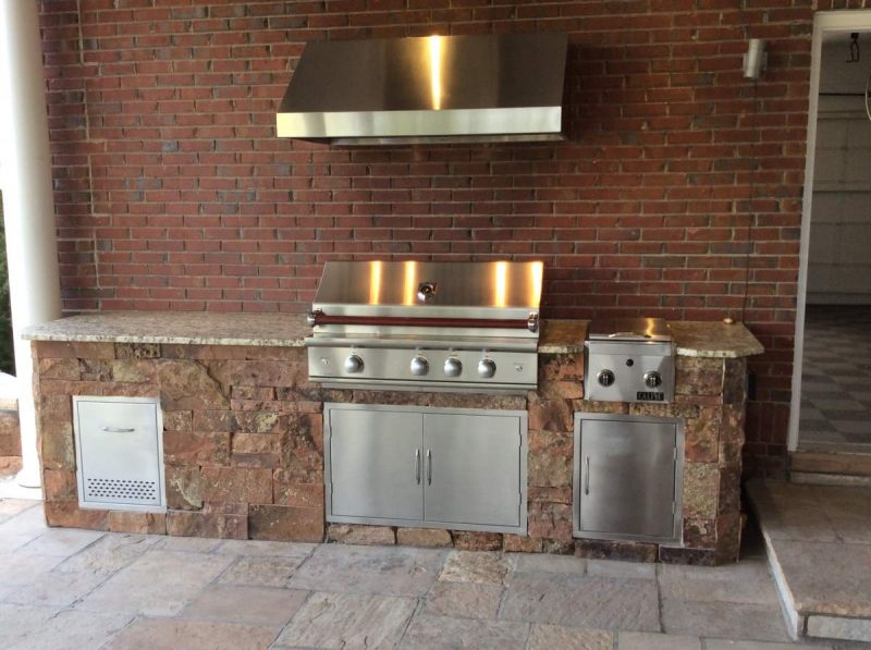 Outdoor Kitchen Ventilation