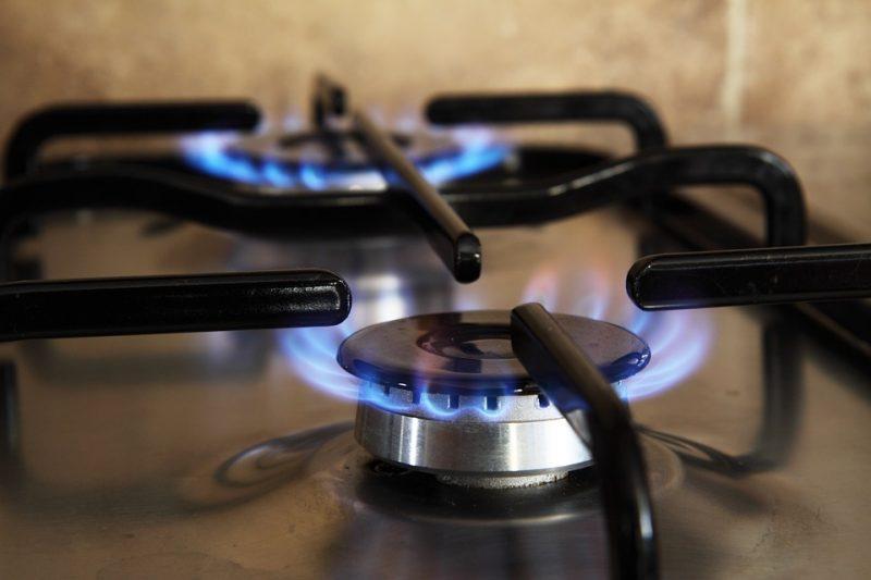 Open Gas Burners