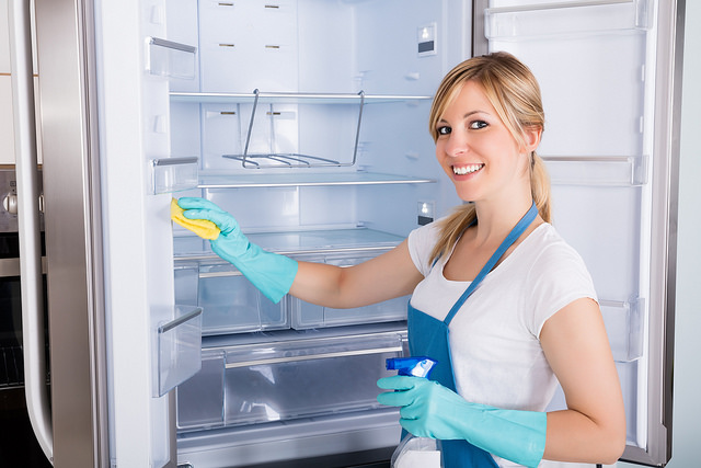 how to deodorize the refrigerator