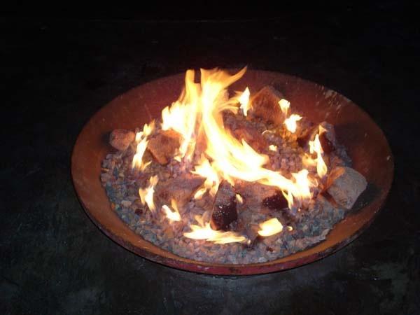 Sunken Fire Pits