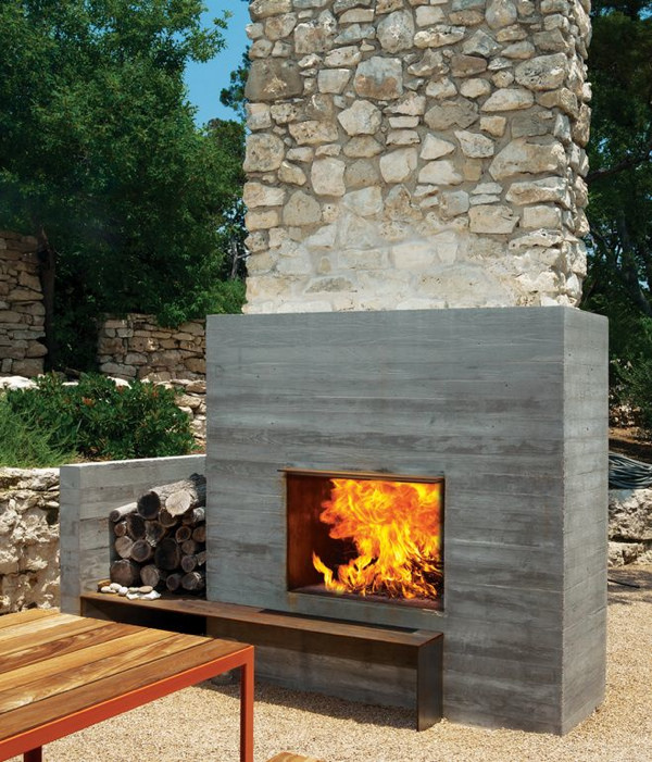 Colorado Outdoor fireplace