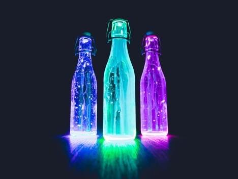 bright bottles