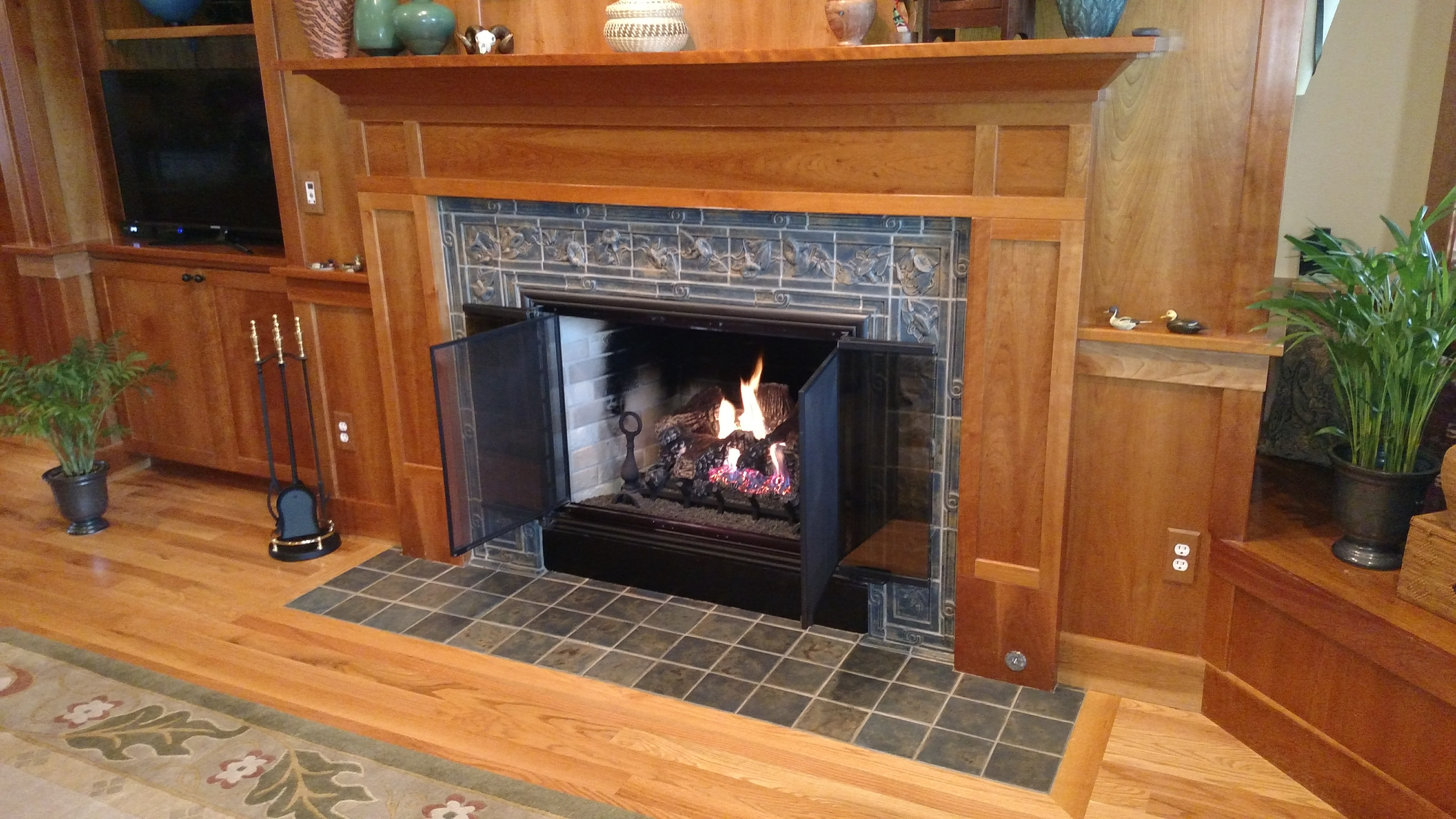 Fireplace and stove for your home